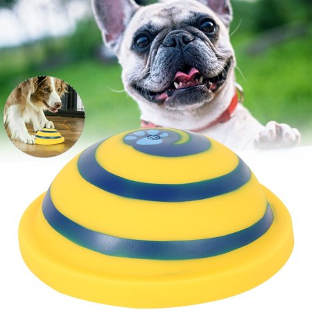 Pet Dog Toys Squeaky Dog Toy Sounding Disc Soft and Safe Pet Dog Toys Flying Discs