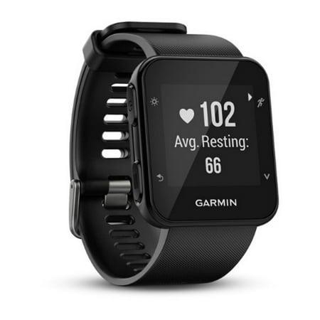 Refurbished Garmin Forerunner 35 GPS Running Watch with Wrist-based Heart Rate Monitor -