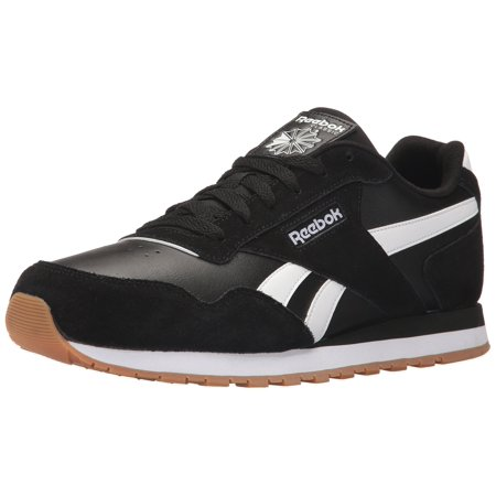 Reebok CM9924   Men s Classic Harman Run Sneaker Black White Gum (11 D(M)  US) ca0b818c4