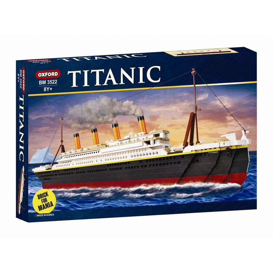OXFORD BLOCKS TITANIC Compatible Building Brick Set