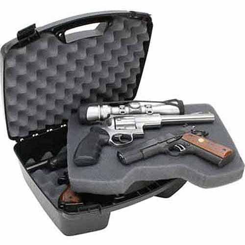 MTM Four Handgun Case, Black