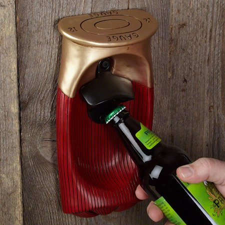 shotgun shell wall mount bottle opener. Black Bedroom Furniture Sets. Home Design Ideas