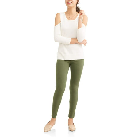 d1f7310b8ba Time and Tru - Time and Tru Women s Full Length Soft Knit Color ...