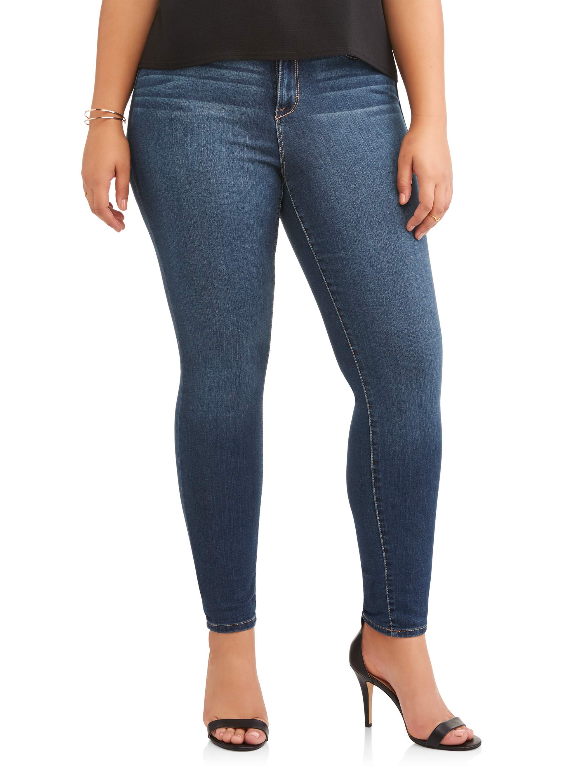 Women's Plus High Rise Super Skinny Ankle Jean