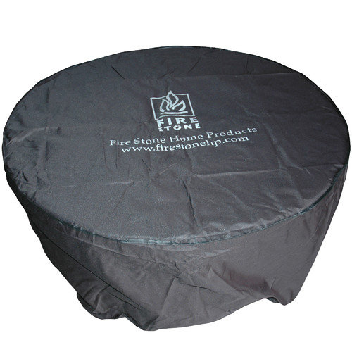 The Outdoor GreatRoom Company Round Vinyl Cover for Dining Table or Fire Pit