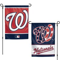 "Washington Nationals WinCraft 12"" x 18"" Double-Sided Garden Flag"