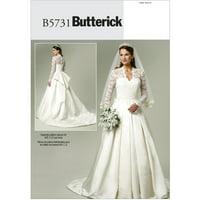 Butterick Pattern Misses' Dress, A5 (6, 8, 10, 12, 14)