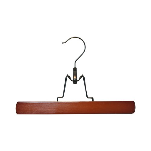 Better Homes and Gardens Wooden Pant and Skirt Hangers, 2pk, Cherry