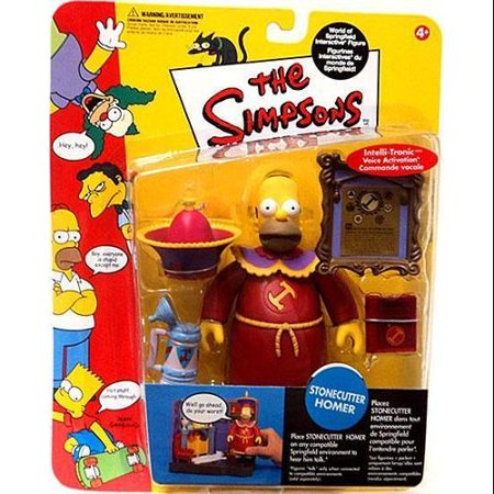 The Simpsons Series 10 Homer Simpson Action Figure [Stonecutter] (Homer Simpson Radioactive Man)