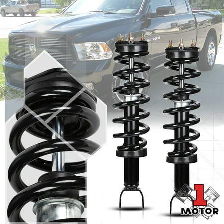 15 Tail Strut - Front L+R Strut Assembly Shock Absorber w/Spring for 09-18 Dodge Ram 1500 4WD 10 11 12 13 14 15 16 17