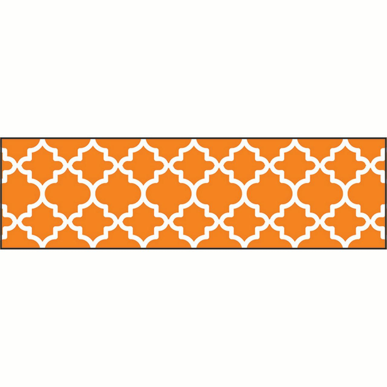 MOROCCAN ORANGE BOLDER BORDERS