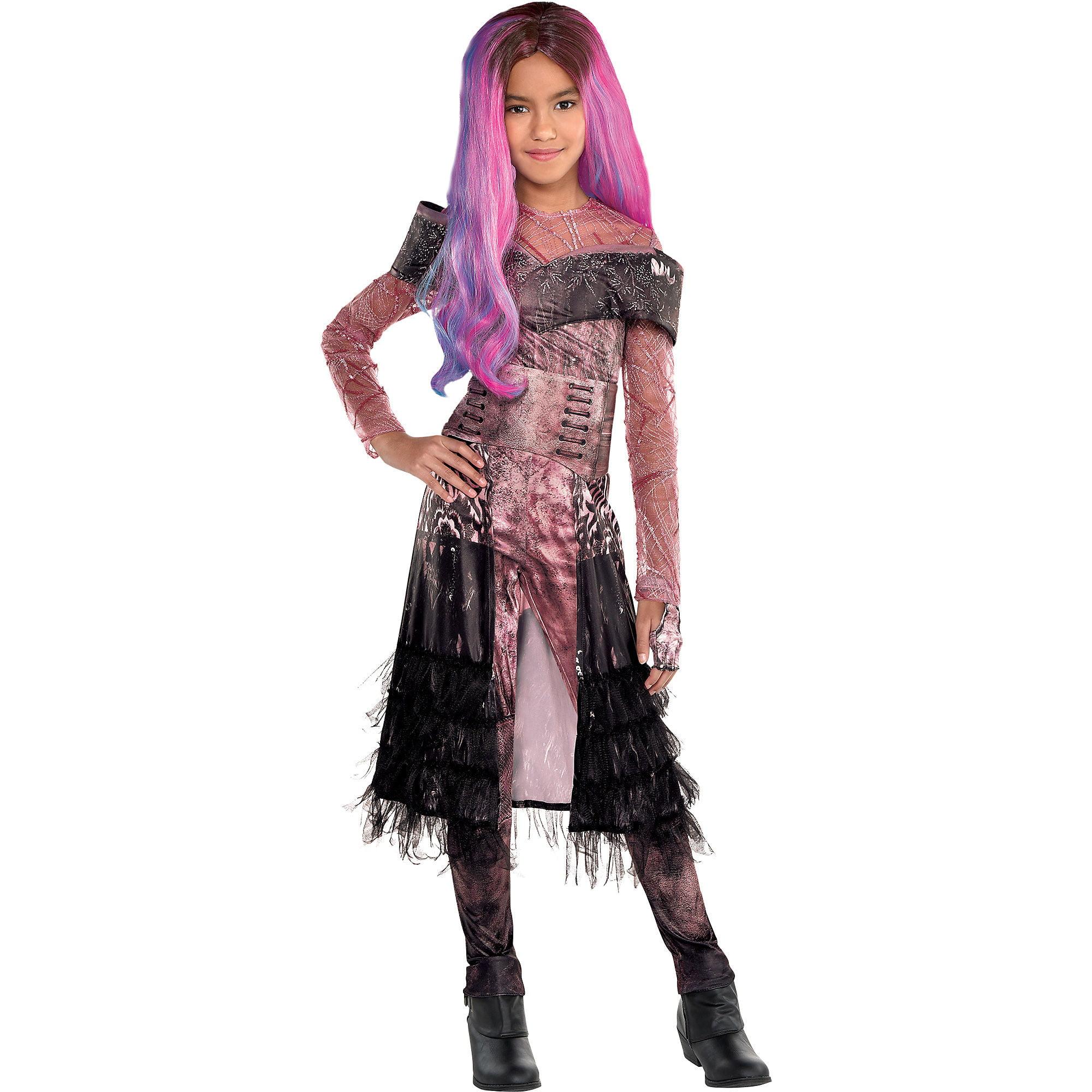 Party City Audrey Halloween Costume For Girls Descendants 3 Includes Accessories Walmart Com