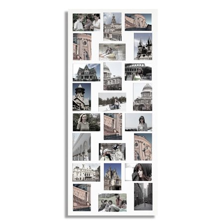 Adeco White 24-opening Collage Picture Frame - Walmart.com