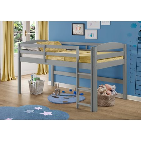 Low Loft Twin Bed With Ladder
