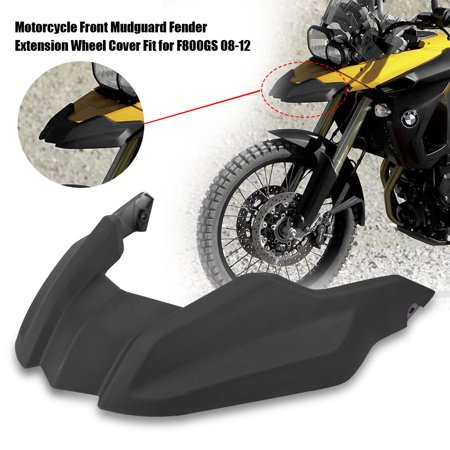 HURRISE Front Mudguard, Front Mudguard,Motorcycle Front Mudguard Fender Extension Wheel Cover Fit for BMW F800GS F650GS 08-12 - image 7 of 7