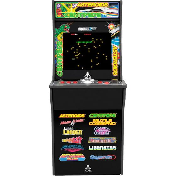 Deluxe 12-in-1 Arcade Machine with Riser, Arcade1UP, Atari