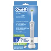 Oral-B Vitality FlossAction Electric Rechargeable Toothbrush with 2 Brush Heads powered by Braun