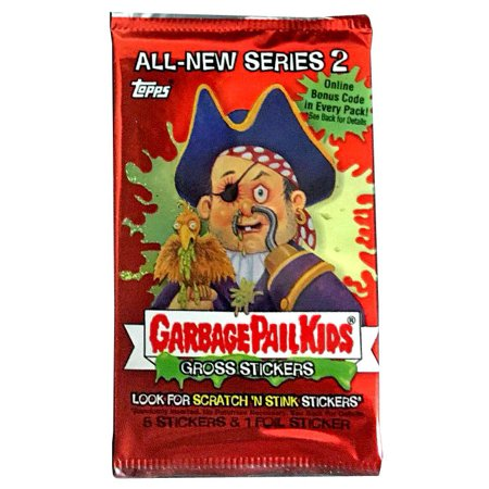 Garbage Pail Kids All-New Series 2 Trading Card Sticker (Garbage Pail Kids Cards)
