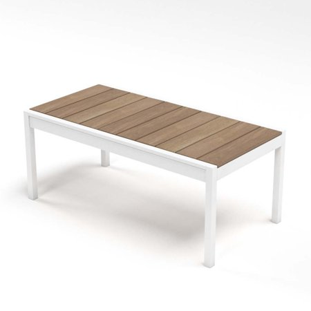 Zinus Outdoor Steel and Wood Framed Table ()