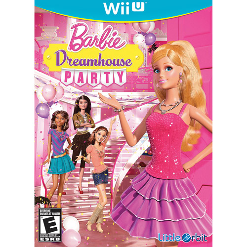 BARBIE DREAMHOUSE Wii-U