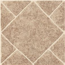 Armstrong Peel N' Stick Tile 12 In. X 12 In.Diamond Limestone Umber 1.65Mm (0.065 In.) / 45 Sq. Ft. Per Case