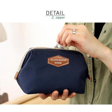 Travel Cosmetic Bag Storage Pouch Purse Makeup Case Multifunction Toiletry Organizer Handbag