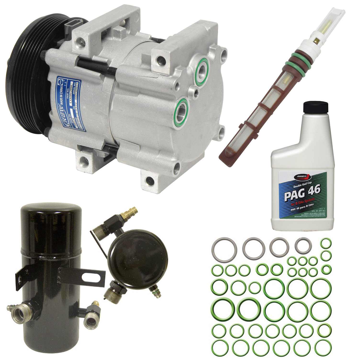 A/C Compressor and Component Kit -- Compressor Replacement Kit
