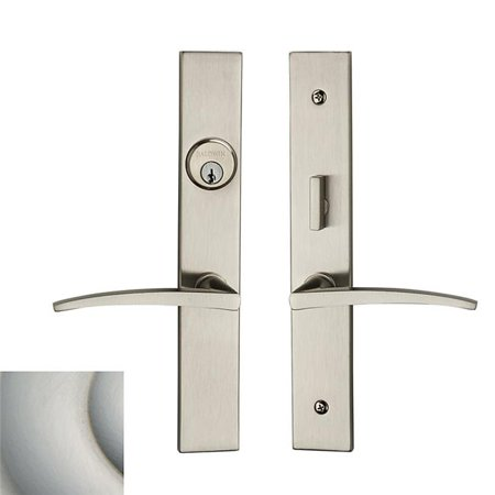 Baldwin 6915056ENTR Santa Monica Entrance Trim - Satin (Baldwin 5025150idm Satin)