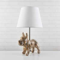 "Better Homes & Gardens Figural Animal Distressed Dog Table Lamp- 20.6""H"