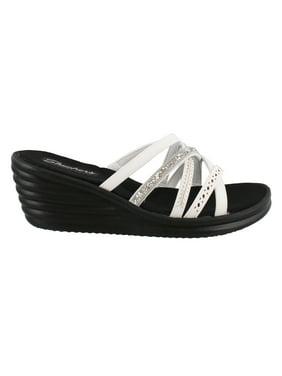6afd9c1976e5db Skechers Womens Sandals   Flip-flops - Walmart.com
