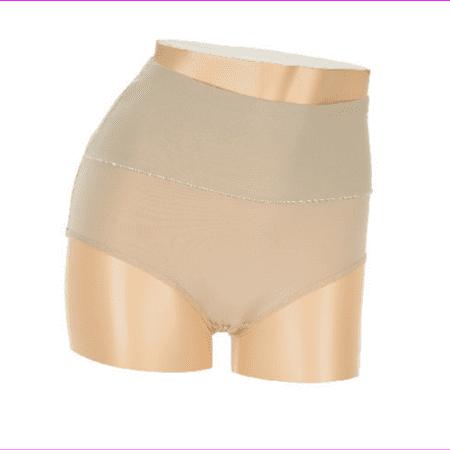 Carol Wior Rear Enhancing Control Panty in Nude, Large