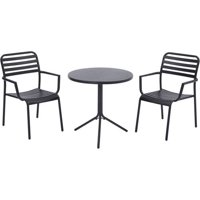 Better Homes and Gardens Tarleton 3-Piece Bistro Set, Seats 2