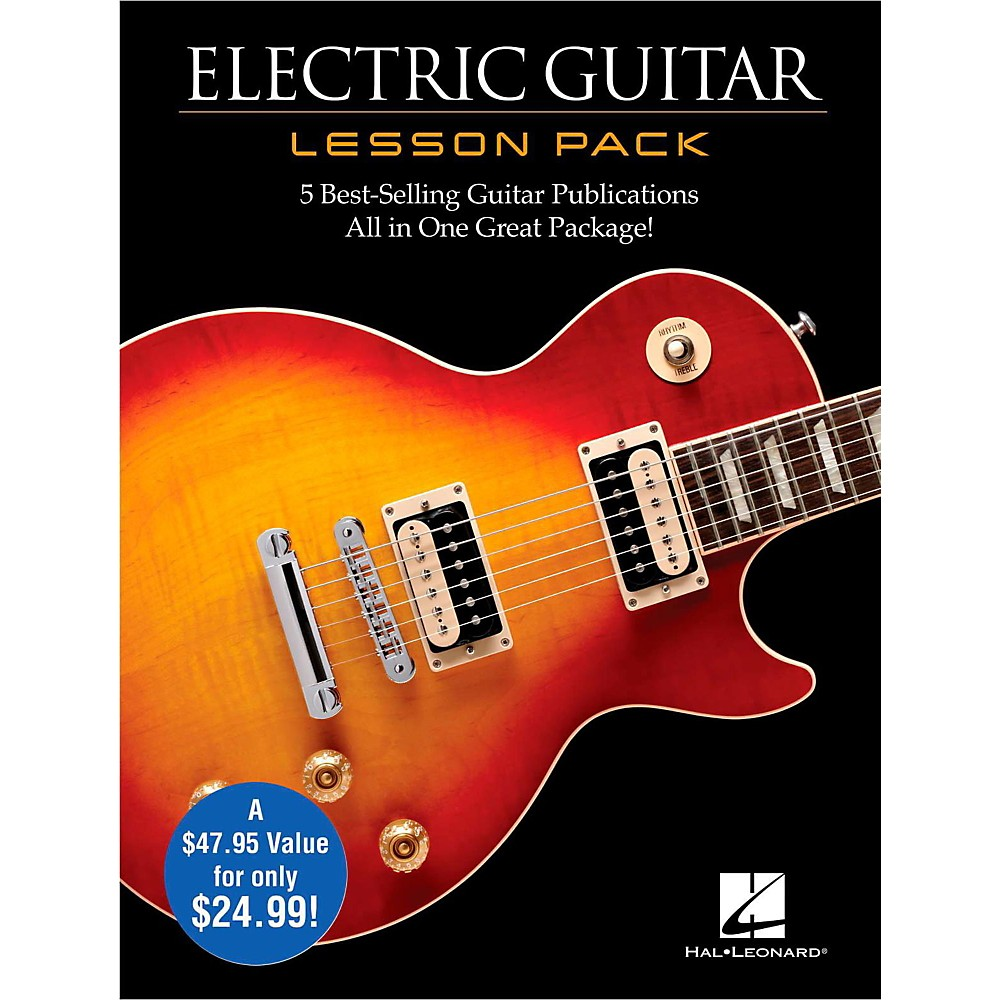 Electric Guitar Lesson Pack