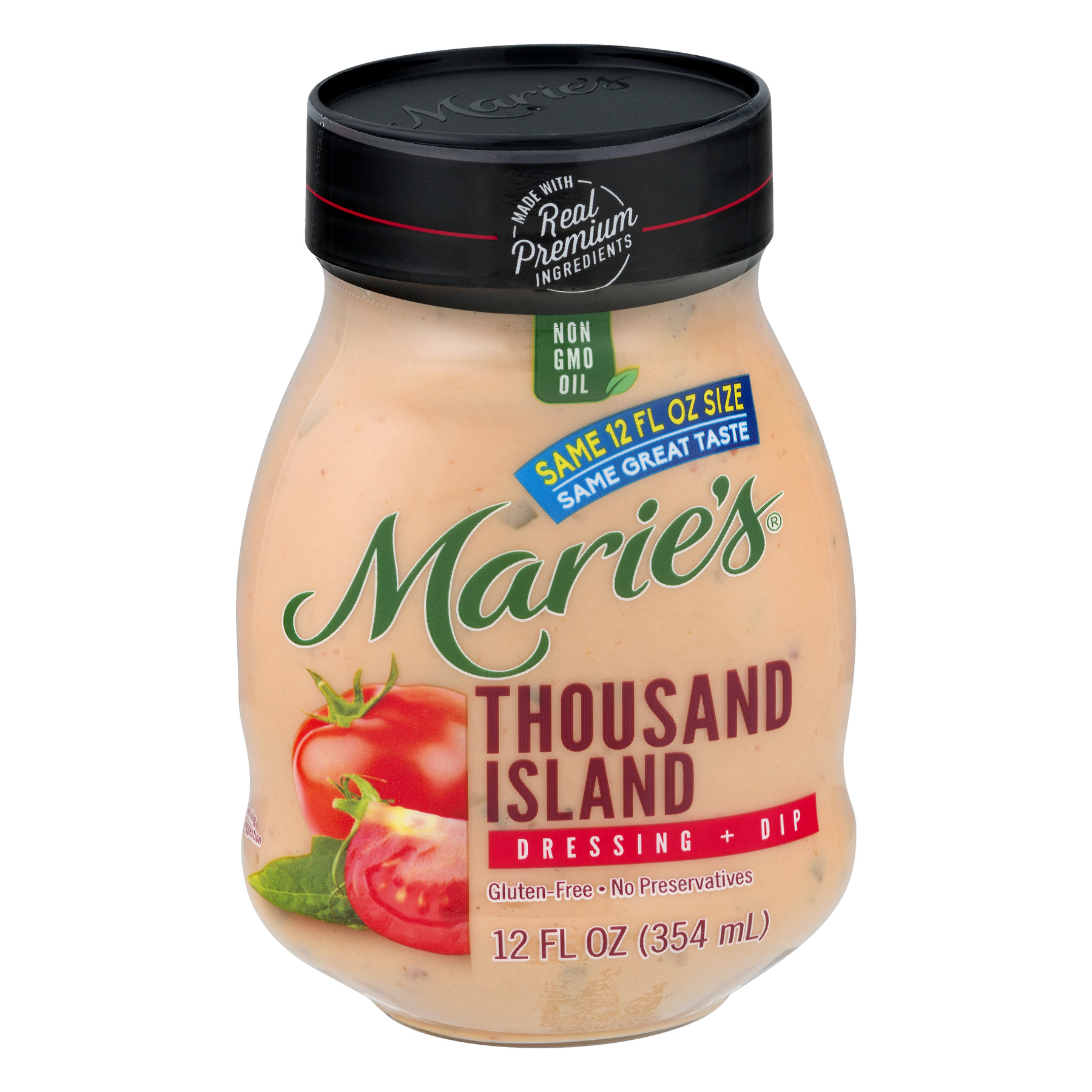 Marie's® Thousand Island Dressing + Dip 12 fl. oz. Jar