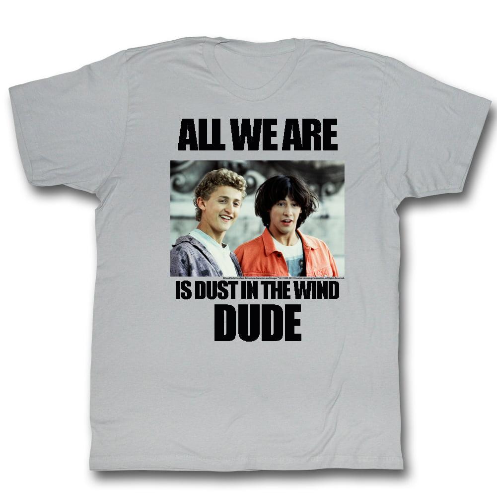 American Classics Bill And Ted Dustin T Wind T Shirt