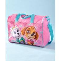 Girls Pink Paw Patrol Girl Overnight Bags