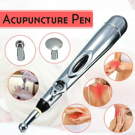 Electronic Acupuncture Meridian Pen Massager 9 Grades Adjustable Energy Health Kit Heal Massage Pain Relief Father's Day (Best Uses For Acupuncture)