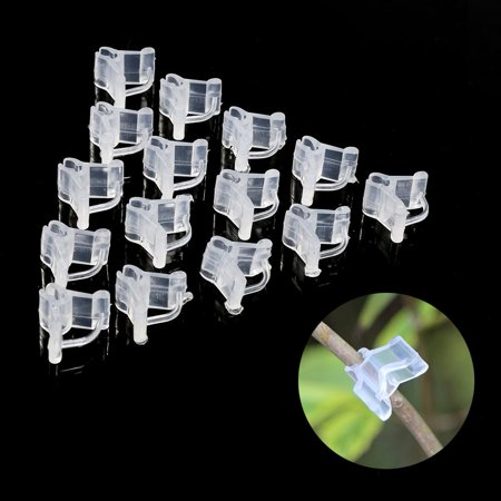 Image of OTVIAP Plant clip,Special grafting clip Tomato seedling grafting clip Eggplant grafting clamp 100pcs,Seedling grafting clip