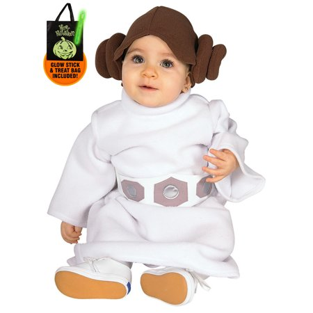 Infant/Toddler Princess Leia Star Wars Costume Treat Safety Kit