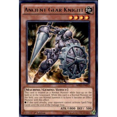 YuGiOh Battle Pack 3 Monster League Ancient Gear Knight BP03-EN033 - Knights Three Pack