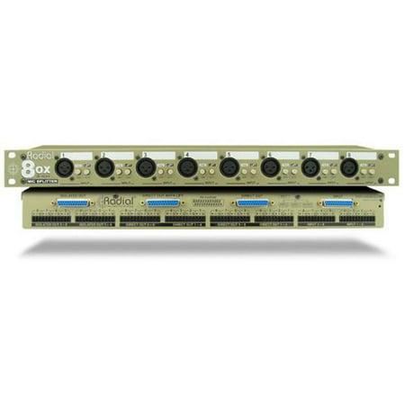 Radial 8ox Rackmount 8 Channel Microphone Splitter