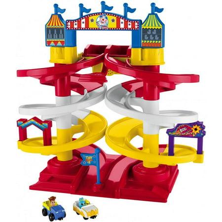 Disney Pixar Toy Story Carnival Spiral Speedway Playset