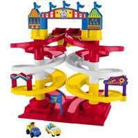 Deals on Disney Pixar Toy Story Carnival Spiral Speedway Playset GFG56