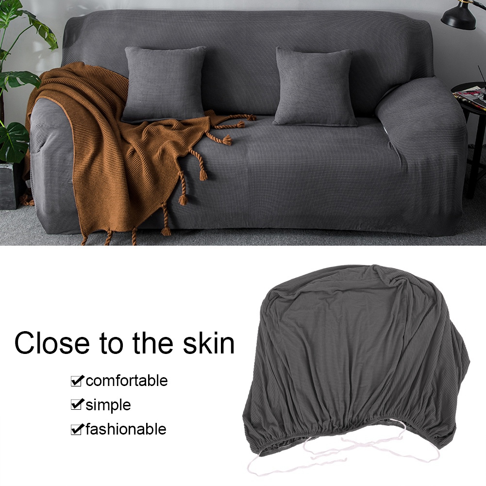 1/2/3/4 Seat Comfortable Sofa Couch Cover Chair Throw Mat Furniture Protector Slipcover