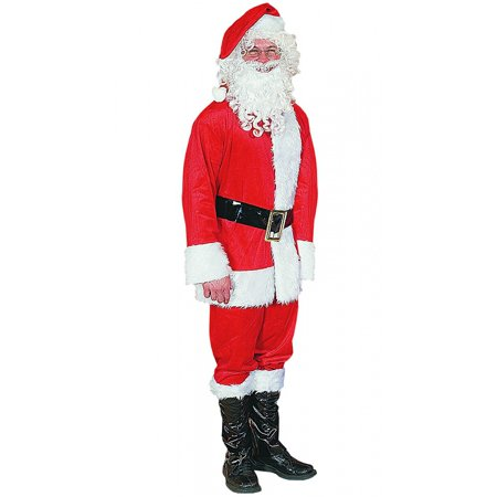 Express Suit (Polyester Santa Suit Adult Costume -)
