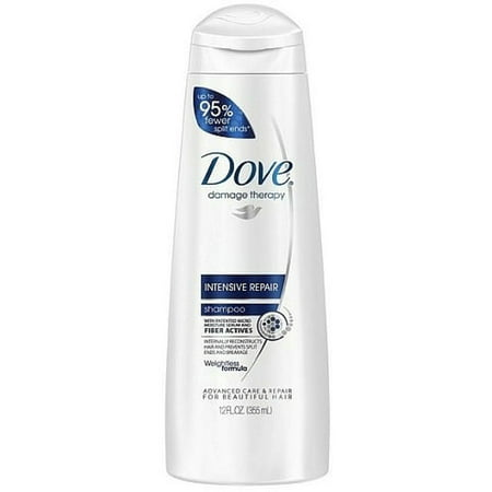 Dove Damage Therapy Intensive Repair Shampoo 12 oz (Pack of