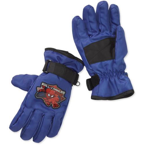 Boys' Spiderman Ski Gloves