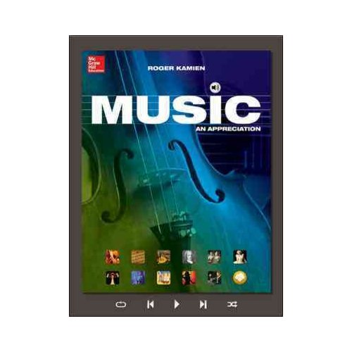 Music: An Appreciation with Connect Plus W/Learnsmart 1 Term Access Card