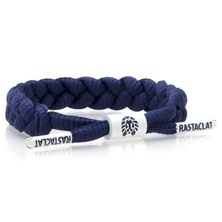 Navy Pearl Bracelet - Rastaclat Indigo Navy Classic Shoelace Bracelet