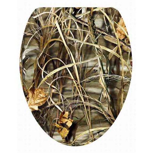 Topseat 6TSPE8652CP Vario Scenario Realtree Camouflage (APG, Max-1, Max 4 Patterns) Elongated 3D Toilet Seat